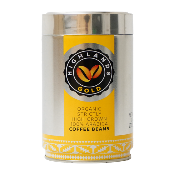 Highlands Gold - café en grain - Strictly High Grown (Organic)