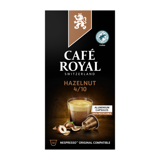Café Royal - nespresso - Hazelnut
