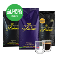 Coffret de dégustation - café en grain (3 kg) - Grand Maestro Italiano